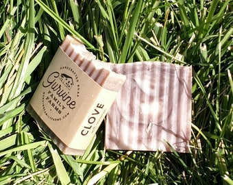 """Clove soap- """"Deodorant"""" soap - Hand Crafted Coconut Oil Bar -3oz"""