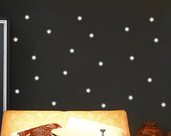 Star Wall Decal Set 01