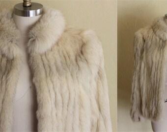 Fox Fur Coat Size M