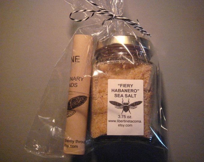 Fiery Habanero Custom Gourmet Salt Blend in a Variety of Packaging