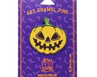 Halloween Pumpkin Hard Enamel Pin