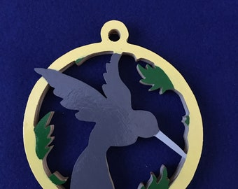 Hummingbird in a Ring