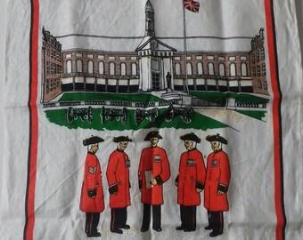 Royal Hospital of Chelsea linen tea towel.