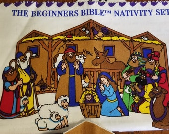 Beginner's Bible Nativity Set Panel