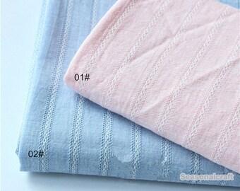 One Yard / Meter Yarn-dyed,Cotton Fabric for craft, Stripe Cotton fabric, diy fabric,garment accessory (QT1293)