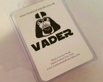Vader Wax Tarts- Star Wars inspired Clamshell wax melts -Black Licorice Scent