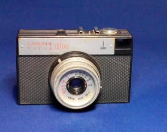 Smena 8M Vintage Soviet Camera With Original Case