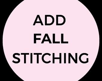 Fall Stitching Service