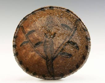 Hand Pinched Wood Fired Bowl by Jenny Mendes - Bird In A Tree