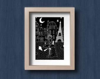Kiki de Montparnasse postcard
