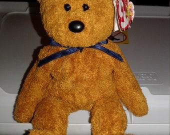 TY Beanie Baby Fuzz The Bear