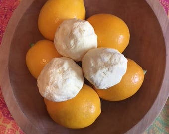Meyer Lemon Bath Fizzies
