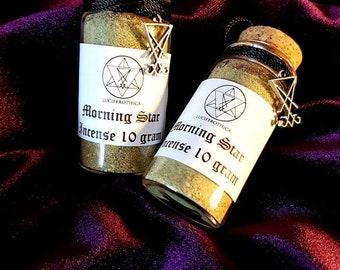 Luciferothica's Morningstar Incense - Morningstar Incense Wierook Clairvoyance Veil Commune Daemon Demonic Sceance
