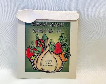 Midwestern Garden Radish Dip Mix - Paper Fold