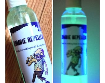 Zombie Repellent Spray Glows in the Dark