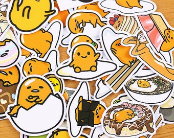 35pcs, Gudetama stickers, lazy egg, cute egg, Filofax, Planner Sticker, kawaii stationary, Scrapbook Sticker, journal, Sticker set, design 2