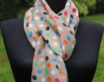 Scarf For Mom / Mother's Day Gift Scarf / Point Scarf Shawl/ İnfinity Scarf / Gifts For Mom Scarf Shawl