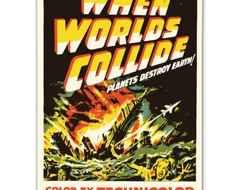 Vintage Replica Art. Movie poster