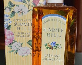 CRABTREE & EVELYN SUMMER Hill Bath And Shower Gel-New