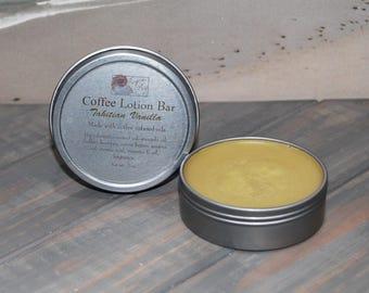 Coffee Lotion Bar