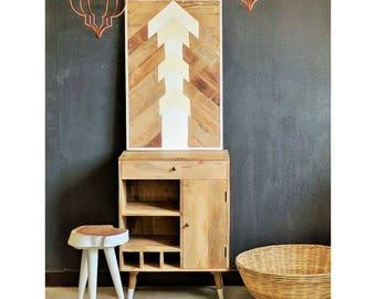 Furniture design storage bottles