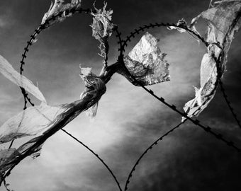 Love -  fine art monochrome photography