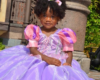 Rapunzel, Tangled dress, princess Rapunzel, birthday dress