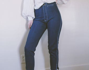 ASTRID DENIM    vintage high waisted jeans   mom jeans   vintage denim   29 / 30 waist jeans   high rise jeans   ABLE shoppe