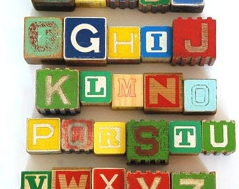 Mixed Up Alphabet No. 4