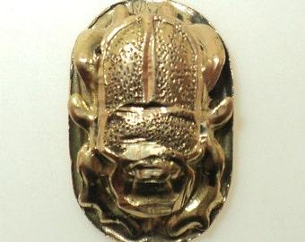 Egyptian Scarab Beetle Pendant (JC-1053)