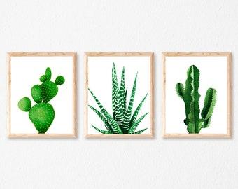 Cactus set | Etsy