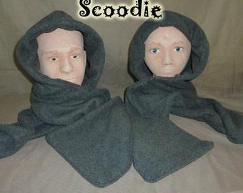 Dark gray scoodie