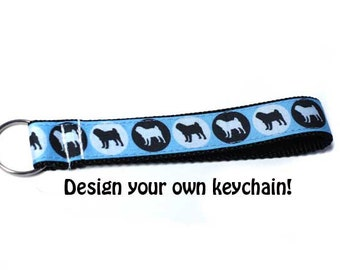 Keychain - Pick your Pattern