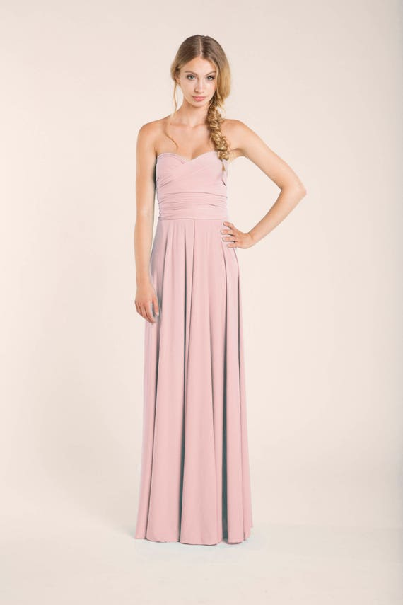 Rose Pink Bridesmaid Dresses