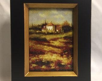 "Framed Oil Painting"" Home"""