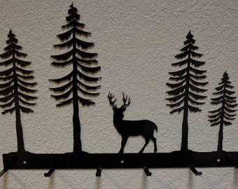 Forest Deer Hat Rack