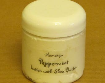 Peppermint Lotion with Shea Butter