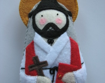 St. Andrew Kim Taegon...Felt Softie