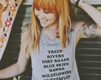 Great Outdoors Muscle Tank - Womens