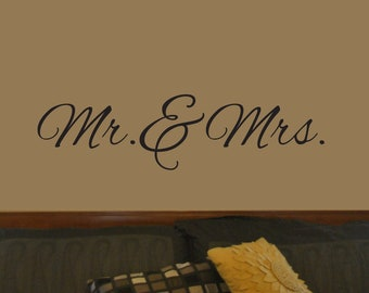 """Vinyl Wall Decal Sign 