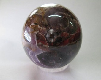 WholesaleGemShop - Amethyst Approx. 2 inches (50mm) in diameter with Free Shipping
