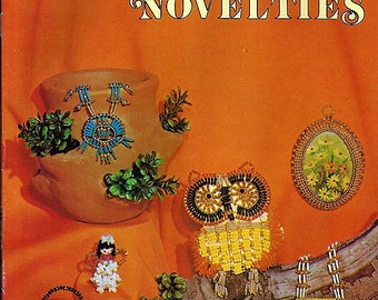 Safety Pin Novelties Beading and jewelry Pattern Book H 211