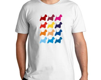 Colorful West Highland White Terrier T-Shirt