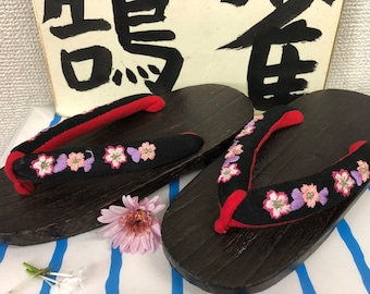 Vintage Youth/Petit Japanese Geta Sandals (21cm)