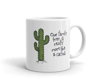 family cactus Mug