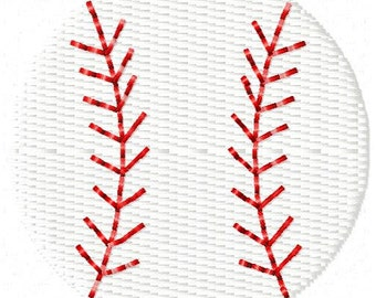Baseball Machine Embroidery Design Mini