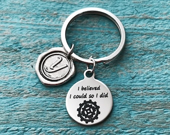 Female Engineer, Civil Engineer, Mechanical Engineer, Engineering, Graduation, Gifts for, Silver Keychain, Silver Jewelry, Silver Keyring