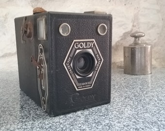 Camera Goldy - black - Made in France 1950