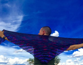Spread Your Wings Shawl