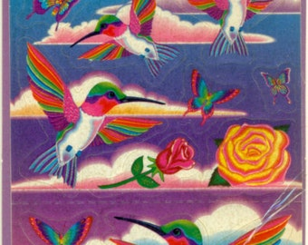 Vintage Lisa Frank Dashly Stickers  Unopened